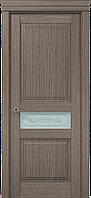 """Двери межкомнатные Папа Карло """"Milenium ML-13 бевелс"""" дуб серый брашированный"""