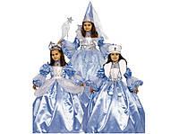 Платье принцессы 3 в 1(голубое)