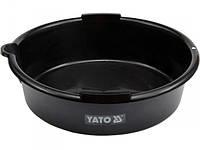YATO Посудина для зливу оливи, V= 8 л, Ø= 37см