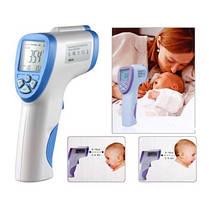 Бесконтактный инфракрасный термометр Non-contact, фото 3