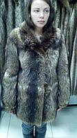 Полушубок из натурального меха енота недорого в Харькове