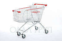 Поворотная тележки для супермаркетов 125 литров