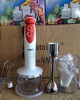 Блендер погружной с венчиком, мощность 450вт,Schtaiger SHG-745, пластиковая чаша