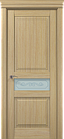 "Двери межкомнатные Папа Карло ""Milenium ML-13 бевелс"" дуб выбеленный"
