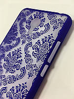 Пластиковый чехол Vintage Meizu M2 Note, Кружево