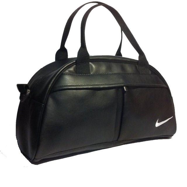 64e40b5bc934 Спортивная сумка Nike реплика средняя черная - e-sumki.com.ua - интернет