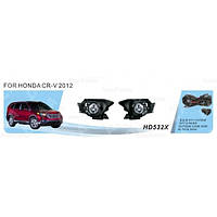 Фары доп.модель Honda CRV/2012-/HD-532X-W/эл.проводка