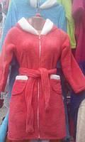 Халат для девочки с ушками на капюшоне 7-8 9-10 11-12 лет