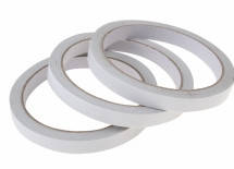 Двусторонний скотч (тонкий) диаметр   7 мм.