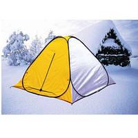 Палатка для зимней рыбалки 2х2м Ranger с антимоскитной сеткой желто-белая