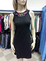 Платье черное с камнями Magenta
