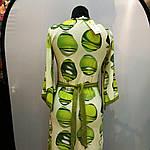 Сукня зелене ошатне кимано трикотаж 429131, фото 6