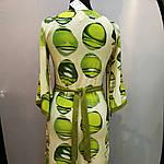 Сукня зелене ошатне кимано трикотаж 429131, фото 5