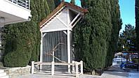 Строительство деревянных конструкций для зоопарков