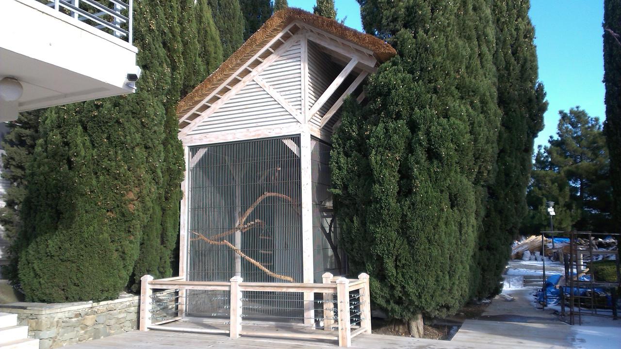 Строительство деревянных конструкций для зоопарков - АРТ-БАСТИОН в Киеве