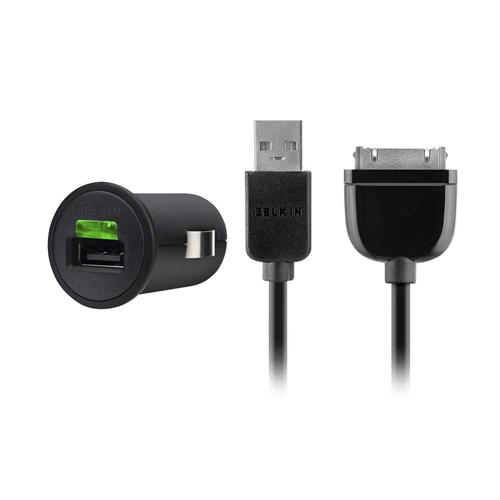 Автомобильное зарядное для iPhone4 / iPad 3 Belkin