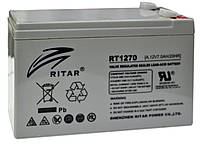 Аккумулятор RITAR RT1270 12V 7Ah, мультигелевый (AGM) для ИБП, фото 1