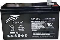 Аккумулятор RITAR RT1290 12V 9Ah, мультигелевый (AGM) для ИБП, фото 1