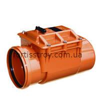 Обратный клапан для наружной канализации ПВХ 110 мм Valrom