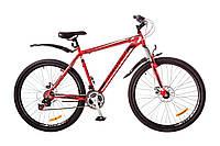 "Велосипед Discovery Trek 29"" AM 14G DD рама-21"" St 2017 (OPS-DIS-29-023) красно-черно-белый"