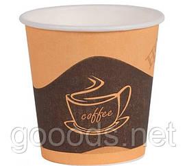Бумажный стаканчик для кофе 110 мл 50 шт в ассортименте