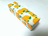 Баф апельсин маникюрный 4х сторонний цветной