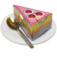 Бумага для заметок (блок) в виде торта NoteCake «Сherry», фото 1