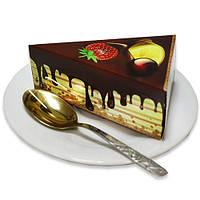 Бумага для заметок (блок) в виде торта NoteCake «Фрукты в шоколаде»