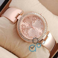 Наручные часы Guess Big crystal Pink Gold/Pink Gold