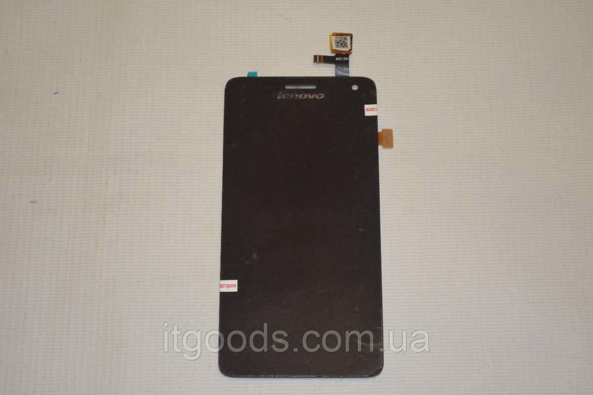 Оригинальный дисплей (модуль) + тачскрин (сенсор) для Lenovo S660 (черный цвет)