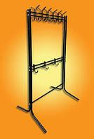 Вешалка стойка для одежды металлическая