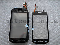 Touch screen (Сенсор) Samsung S7260/ S7262 black с самоклейкой (TEST OK)