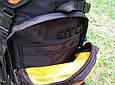 Рюкзак Outlander EXTREME 55, черный/синий 55 л, фото 6