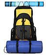 Рюкзак Outlander EXTREME 55, черный/синий 55 л, фото 5