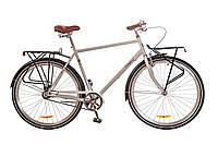 """Велосипед Дорожник Comfort Male 28"""" 14G рама-22"""" St 2017 (OPS-D-28-073) серый с багажником"""