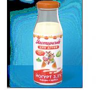 Йогурт Банан-тыква 3,2% с 8 мес. 200г