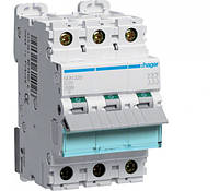 Автоматический выключатель 63А 3p D 10кА NDN363 Hager