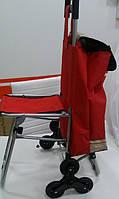 Сумка тележка со складным стулом (6 колес)