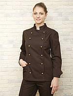 Китель-куртка, блузон и брюки для поваров,униформа для кухни