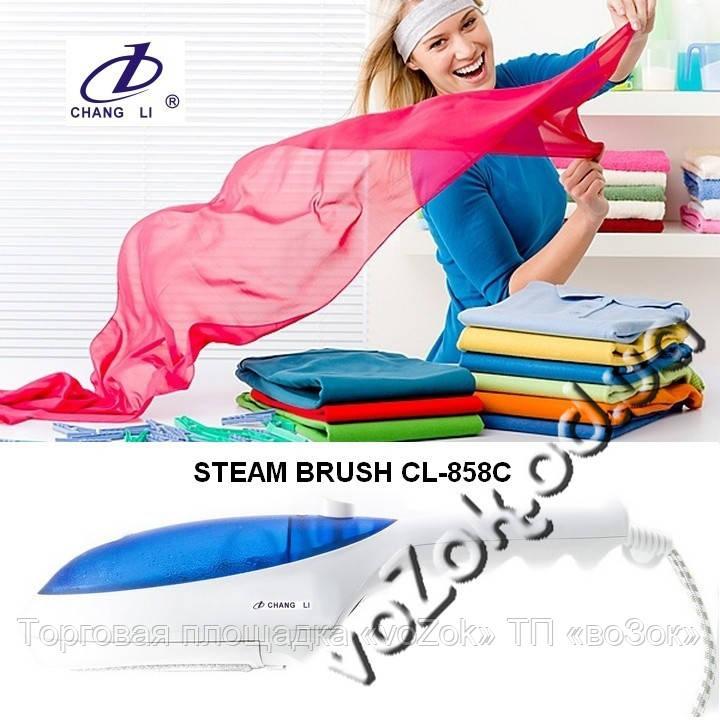 Отпариватель утюжок ручной Steam Brush CL-858C ChangLi