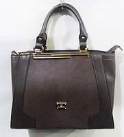 Стильная женская супер сумка   цвет кофе