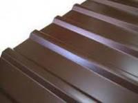 Профнастил С-10 цветной-коричневый 0,95м.х2,00м.х0,35мм.