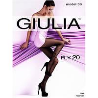 Женские черные колготки GIULIA FLY 20 model 38  KLG-230