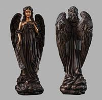 Скульптура ангела из искусственного мрамора № 6 (тонированный)