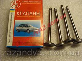 Клапана выпускные АК Луганск Таврия 1102 Славута 1103 комплект 245-1007012-10