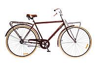 """Велосипед Дорожник Comfort Male 28"""" 14G Velosteel St (OPS-D-28-092) коричневый"""