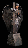 Скульптура ангела из искусственного мрамора № 1 (тонированный)