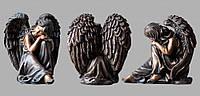 Скульптура ангела из искусственного мрамора № 9 (тонированный)