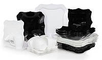 Luminarc Authentic Black&White Сервиз столовый 30 предметов