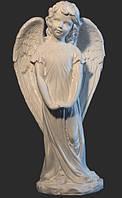 Скульптура ангела из искусственного мрамора № 3